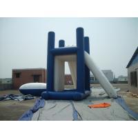 Lead - Free Backyard Water Games , Kids Inflatable Slide For Inground Pool