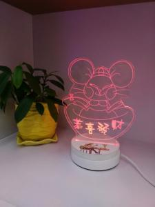 China 2016 New Design 3D Table Night Light, Led Night Lamp for loving gifts on sale