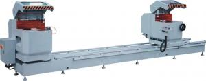China Heavy Duty Double Unit Aluminium Window Cutting Machine on sale
