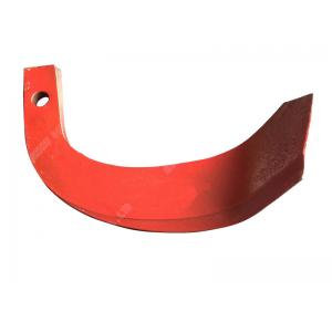 Double Hole Rotary Tiller Blades 581 for agricultural machine 450g-600g spraying plastics