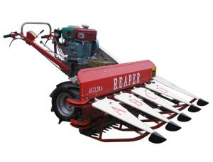 China 4G120 Self-Propelled Mini Reaper/Harvester/Swather Machine on sale
