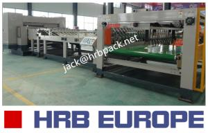 China HRB-1800MM High Speed Single Facer Carton Box Packaging Machine 90KW Total Power on sale