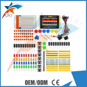 China Fans Package Electronic Components Starter Kit with Breadboard / Wire on sale