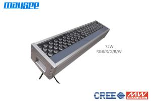 China Surface Mounted RGB LED Flood Light , LED Colour Changing Flood Lights 72w on sale