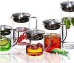 Juegos de té de cristal