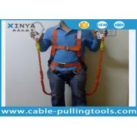 China Fall Protection Systems Construction Full Body Harness Industrial Safety Belt on sale