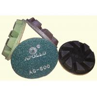 China High Performance 3'' Hard Diamond Ceramic Polishing Pads For Stone Processing on sale