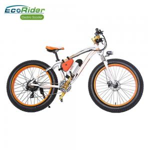 China EcoRider Fat Tire 26 Inch Wheel Electric Bike Off Road Electric Bikes Mountaine Electric Bicycle on sale