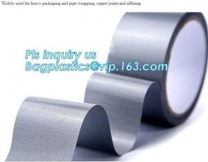 China Carpet duct tape,Professional Grade Strong Repair Sealing Joining Plumbing Silver PVC Duct Tape 48MM X 30M bagplastics on sale