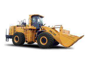 China Soil Moving Equipment 6.5m³ Mining Front Wheel Loader 52 Ton Construction Payloader supplier