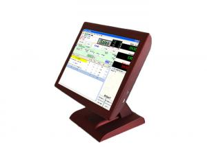 China LCD Fanless Screen All In One Pos Computer , Windows OS All In One Cash Register on sale