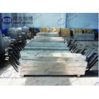 China Aluminum anode defend corrosion of steel structures in seawater and fresh water environment on sale