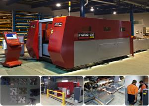 China Water Cooling Fiber Laser Metal Cutting Machines With Japanese AC Servo Motor & Driver on sale