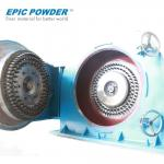 High Output Eco - Friendly Fine Impact Mill , 500kg/H Rice Husk Hammer Mill
