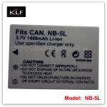 camera battery NB-5L for Canon