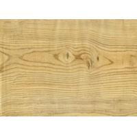 Natural - Looking White Laminate Vinyl Flooring 5.5mm Rigid Core Good Dimension Stability