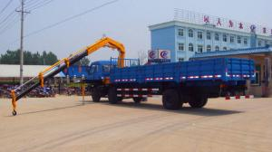 China small knuckle boom truck crane for sales on sale
