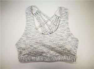 China Sports Women'S Active Vest Multi-Strap Back Tank Compression , Activewear Vest on sale
