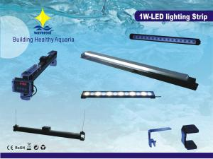 China 4W Low Energy Consumption Aluminum Tube Aquarium Led Lighting Fixtures For Growing Plants on sale
