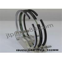 Automobile Engine Piston Rings For ISUZU 102mm Diameter OEM 5-12181-023-2