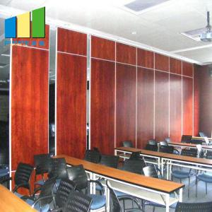 China Sliding Door Movable Acoustic MDF Sound Proof Partition Walls For Conference Hall on sale