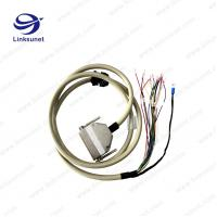 China 09670505604 Soldering Harting PVC GRAY Wire Harness Connectors Assembly Custom PG16 on sale