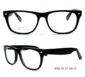 China Big Round Shape Fashion Acetate Optical Frames Have Ready Stock For Woman on sale