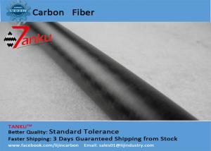China OD20*ID18*500mm carbon fiber tube durable RC UAV Abrasion Resistant on sale