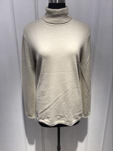 China Ladies Cashmere Turtleneck Sweaters , Spring Women'S Cable Knit Turtleneck Sweater on sale