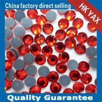 China new arrival DMC hotfix rhinestone,manufacturer price flat back rhinestone,high quality hotfix rhinestone for apparel on sale
