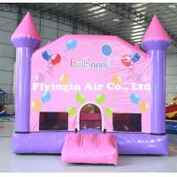 Pvc Lawn Toy Crayon Bounce Inflatable Bouncy Castle with Blower for Children