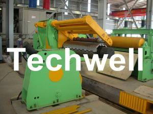China Metal Sheet 3 - 12 * 2200mm Steel Slitting Machine Line To Slit Wide Coils, Strips on sale