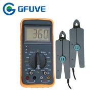 ELECTRICAL DOUBLE CLAMP PORTABLE DIGITAL PHASE ANGLE METER WITH 10A CURRENT CLAMP