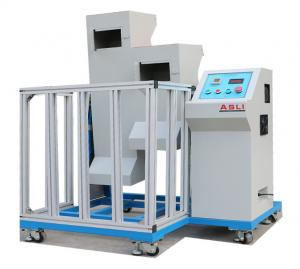 China Mobile Phone Drop Weight Impact Testing Machine , Two Zones Lab Drop Test Equipment on sale