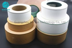 China Cig / Tobacco Filter Paper Pearlized Hot Stamping Printing Perforation Smooth Surface Tipping Paper on sale