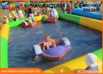China 0.9mm PVC Tarpaulin Inflatable Blow Up Swimming Pools For Children wholesale