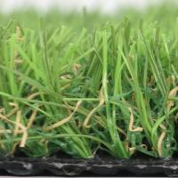 """20MM Height  PP+PE GAUGE 3/8"""" 18 STITCHES Density 13650 3 colors anti-UV High Cost-effective Landscape decoration grass"""