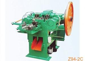 China 1.6mm 2.8mm High Speed Wire Nail Making Machine With Plunger on sale