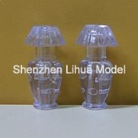 fake 1:20 table lamp with lights,model scale miniature lamp post,architectural model lamp,fake lamp,scale desk lamp