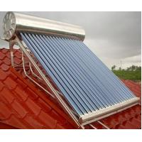Integrated pressurized solar water heater & Solar Water Heating