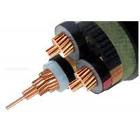 19/33KV Three Core Screened High Voltage XLPE Insulated Cable 3x300SQMM