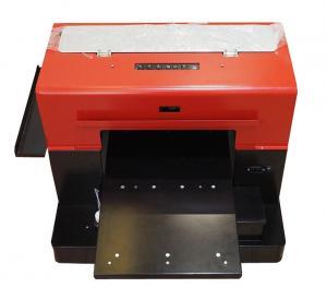 China Full Automatic A4 Uv Led Flatbed Printer , A3 Digital Uv Flatbed Printer on sale