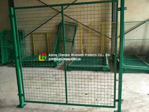 China Custom Warehouse Wire Mesh Fence / Railing 2100mm X 2400mm Panel Size on sale