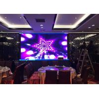 3Mm Pixel Pitch Curved Indoor Led Video Walls High Resolution MBI5153 Driver IC