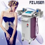 Durable 5 In 1 Slimming Machine Vacuum Roller + Cryo + Lipolaser + RF+ Cavitation