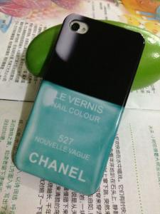China wholesale nail polish Plastic case for iphone 4 4s on sale