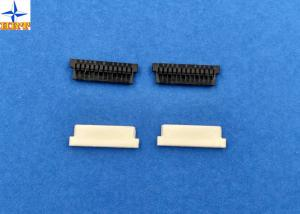 China Home Appliances 1.25mm Pitch Wire To Board Power Connectors PA66 Black 02p To 30p on sale