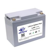 China Rechargeable LiFePo4 battery pack 12V 80Ah 960Wh for solar energy on sale