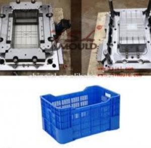 China Plastic turnover box mould , injection molds custom , High precision  factory on sale