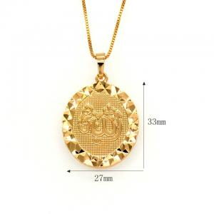 China High quality Vintage pendants Women/Men zircon jewelry Gift 18K Gold Plated on sale